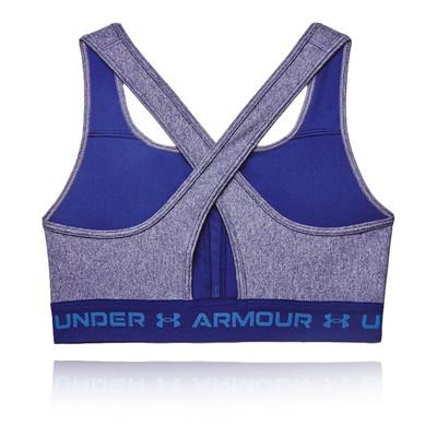 Under Armour Mid Crossback Heather reggiseno sportivo-SS21