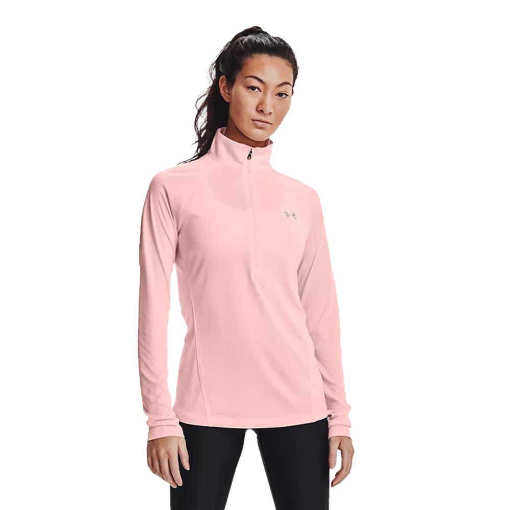 Under Armour Tech Twist maglia con cerniera-SS21