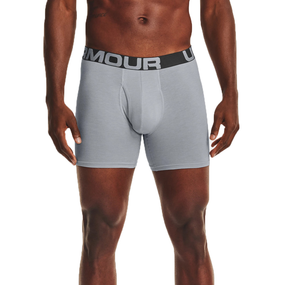 Under Armour Charged Cotton 6 Inch Boxerjock (3-Pack) - SS21