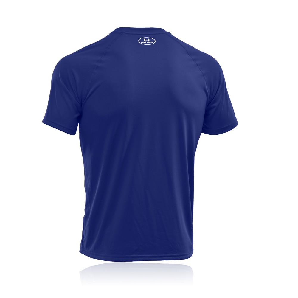 Under armour tech short sleeve running t shirt ss18 for Under armour half sleeve shirt