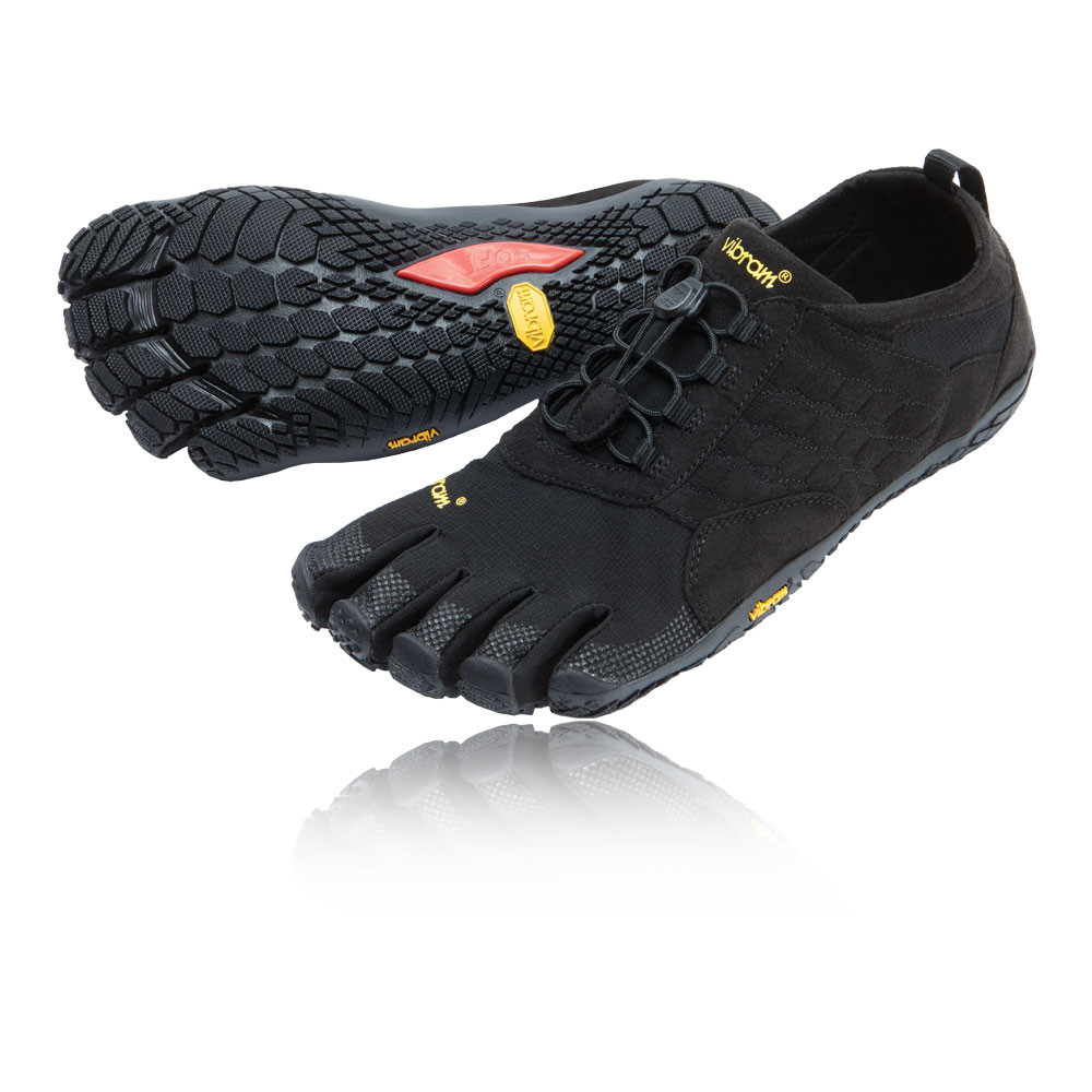 134851eee5cd32 Vibram FiveFingers Trek Ascent Mens Black Walking Hiking Sports Shoes  Trainers