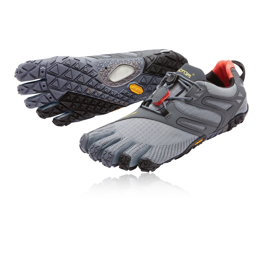 Vibram FiveFingers V-Trail Mujer Gris Running Deporte Zapatos Zapatillas  Correr a0e6d37eb580