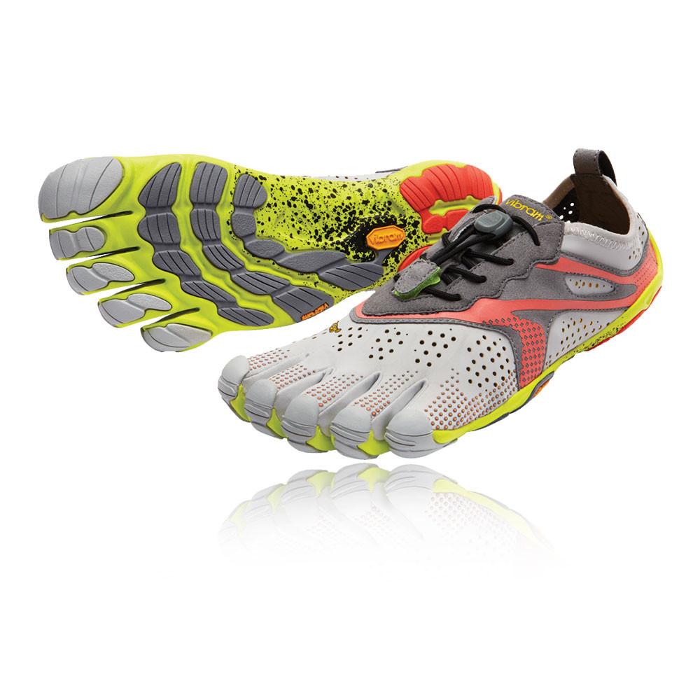 Vibram FiveFingers V-Trail Mujer Gris Entrenar Correr Deporte Zapatos  Zapatillas 28e5316b8489