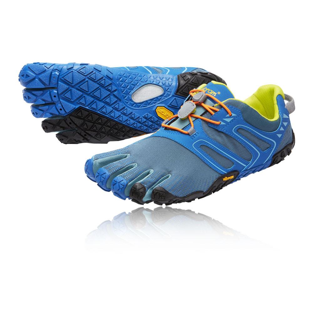 Azul V De Zapatos Vibram Cinco Dedos Deporte Detalles Sendero Hombre Correr Zapatillas erdxCBo