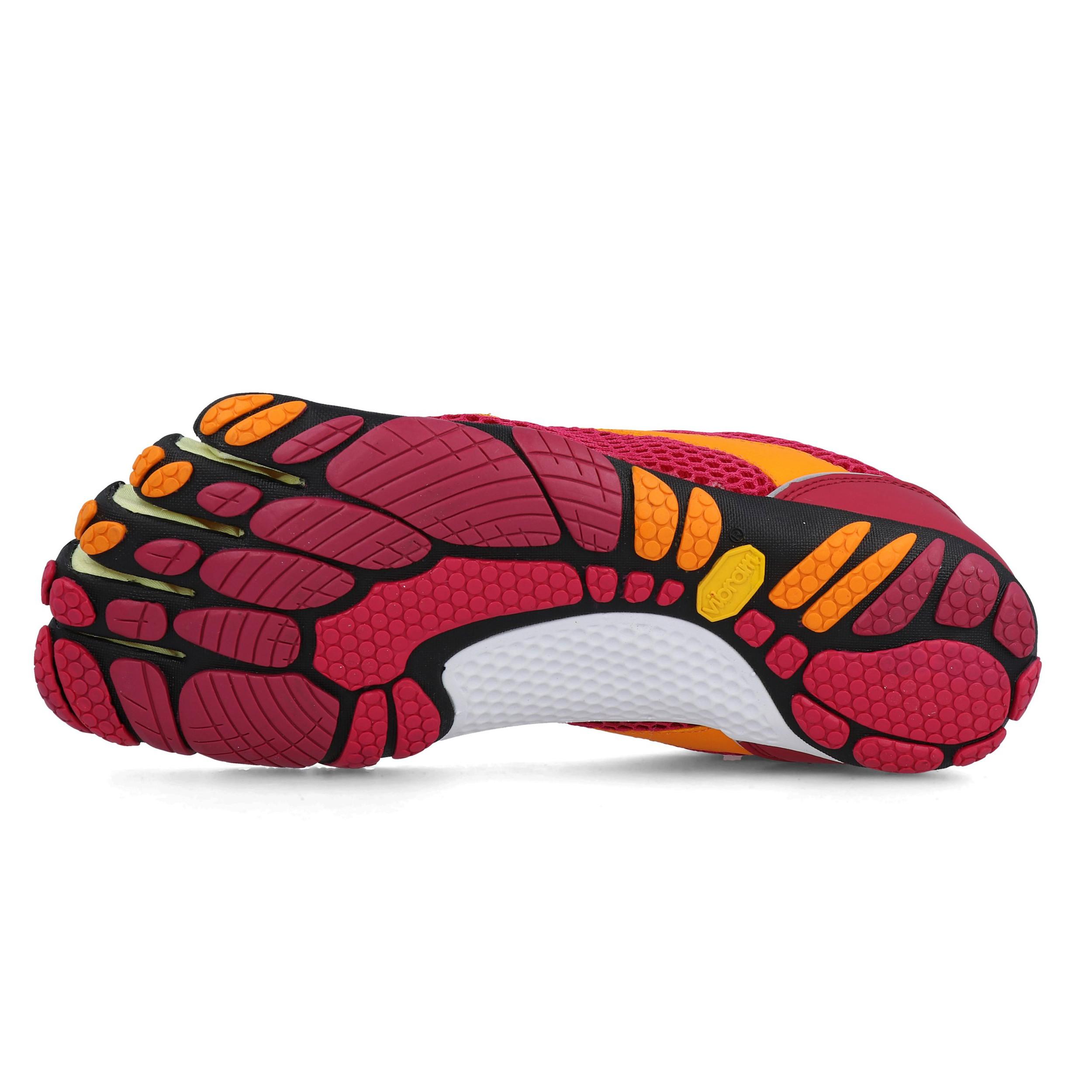 Vibram Damen FiveFingers Speed Turnschuhe Laufschuhe Sneaker Orange Rosa Sport