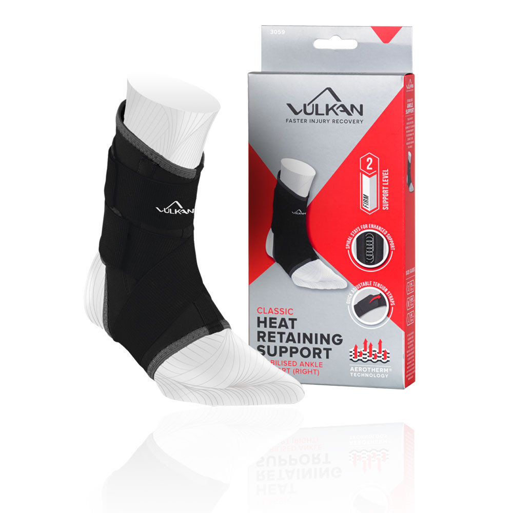 Vulkan Classic Ankle Stabilising Support, Right - AW20