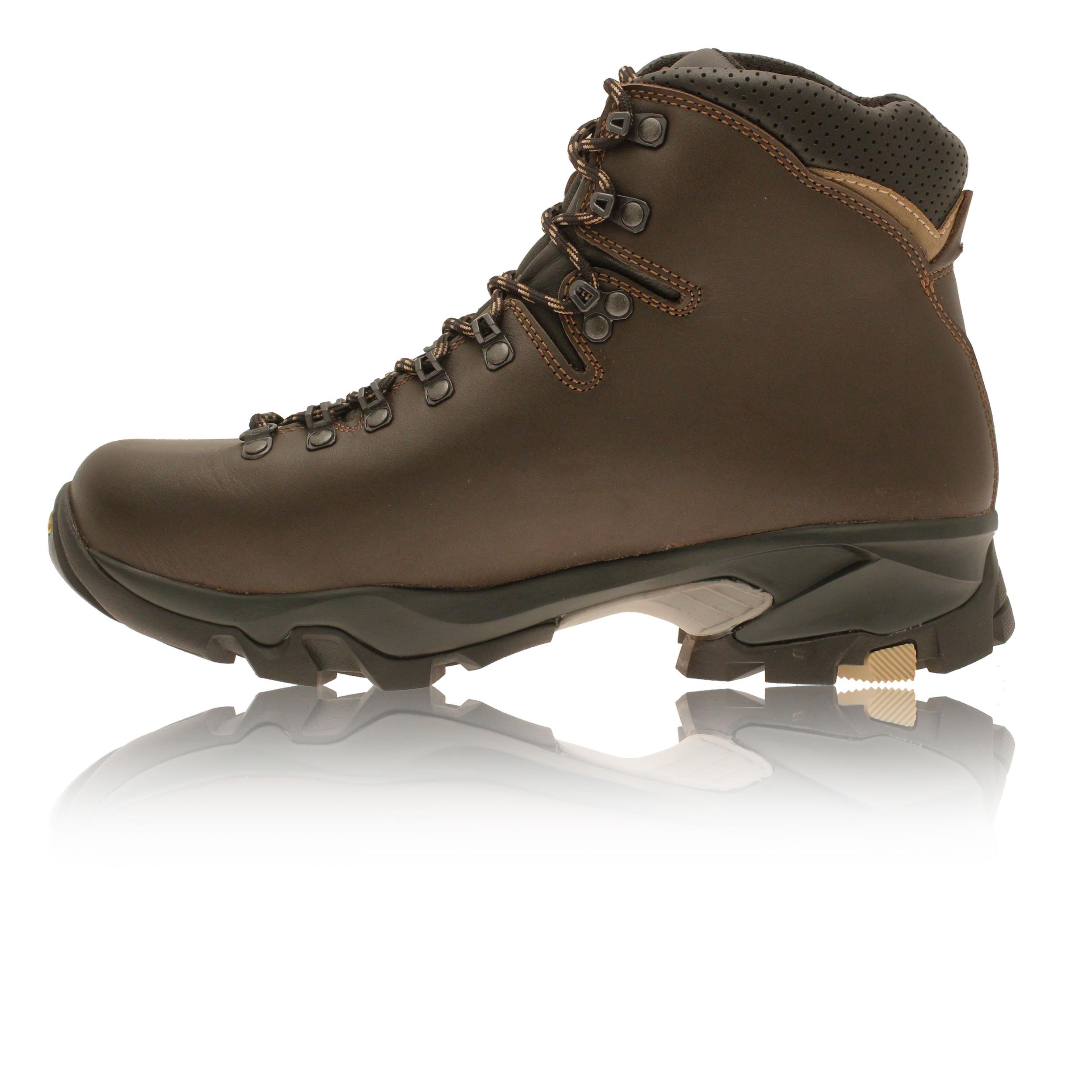 Zamberlan-Vioz-Mujer-Marron-Gore-Tex-Impermeable-Exterior-Andar-Botas-Zapatos