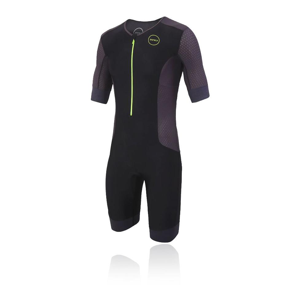 Zone 3 Aquaflo Plus Short Sleeve Trisuit - AW20