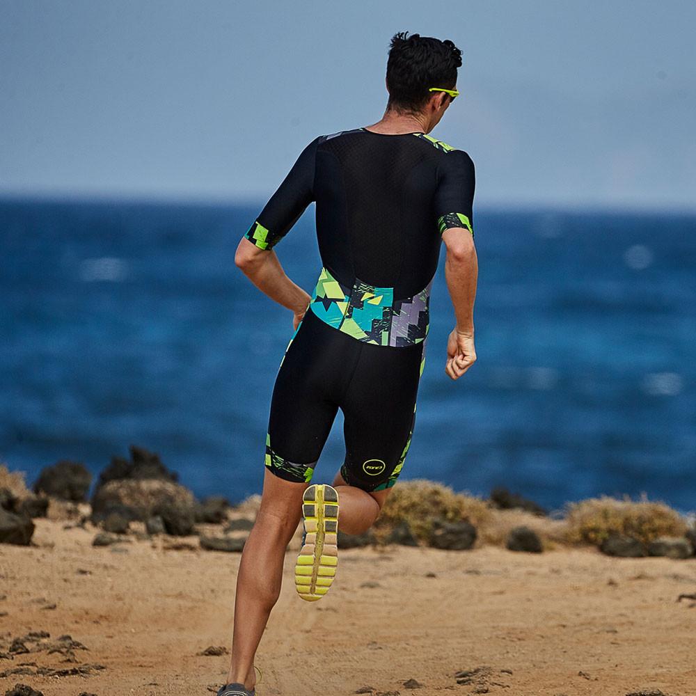 d074221cdef Zone 3 Activate Plus Short Sleeve Trisuit - SS19 | SportsShoes.com