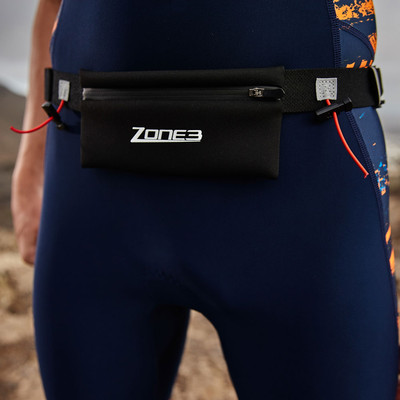 Zone 3 Race Belt with Neopene Pouch - SS20