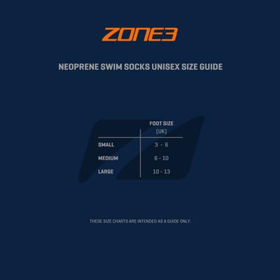 Zone 3 Neoprene calze da nuoto-SS21
