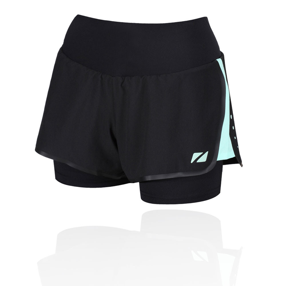 Zone 3  2-in1  Compression Women's Shorts - AW19