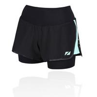 Zone 3  2-in1  compresión para mujer pantalones cortos - SS19