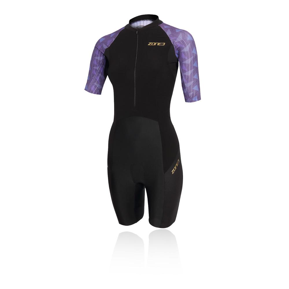 Zone 3 Lava Short Sleeve Women's Trisuit - AW20