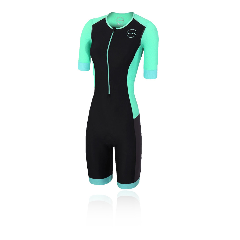 Zone 3 Aquaflo Short Sleeve Women's Trisuit - AW20