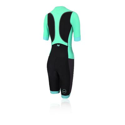 Zone 3 Aquaflo Short Sleeve Women's Trisuit - SS21