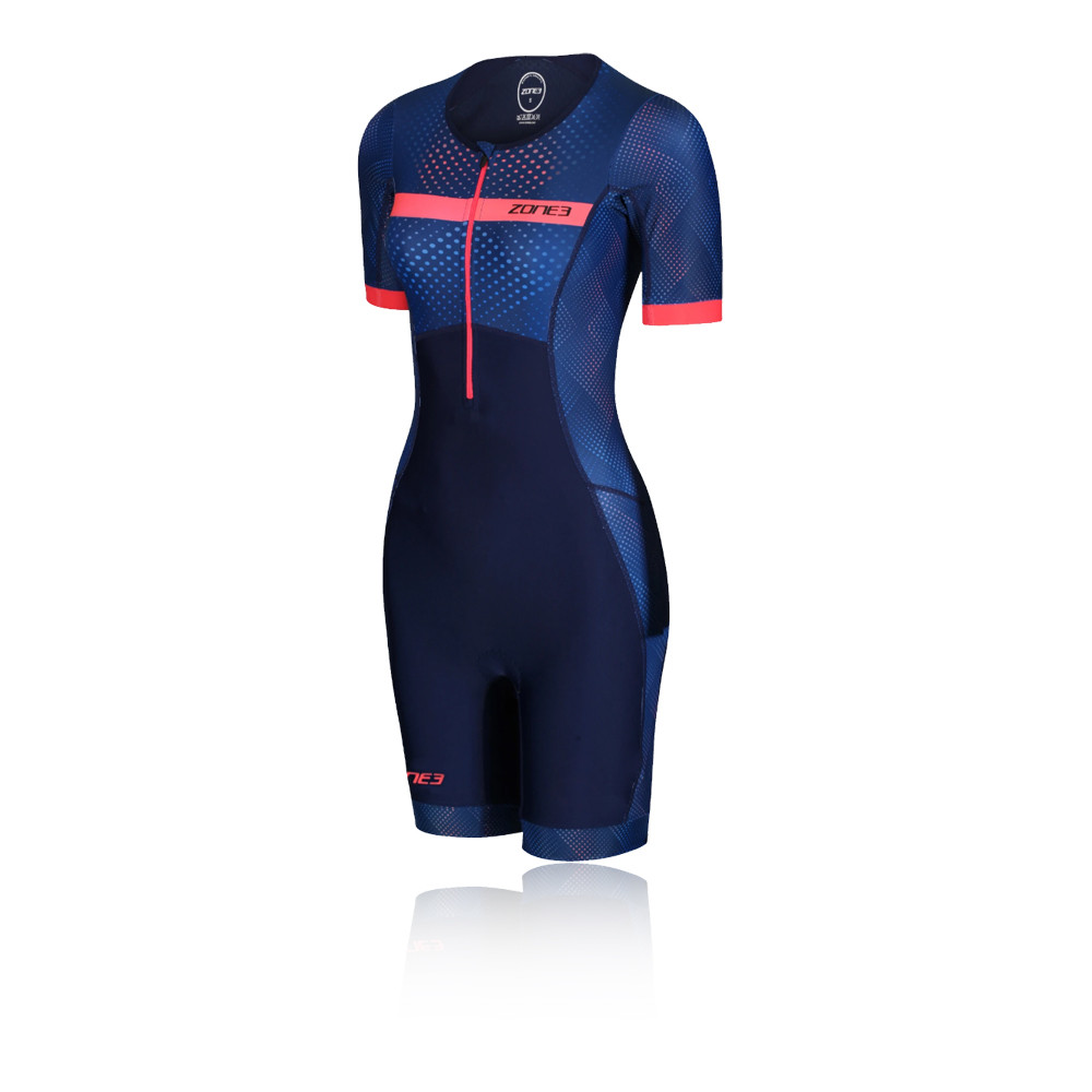Zone 3 Activate  Revolution Short Sleeve Women's Trisuit - SS20