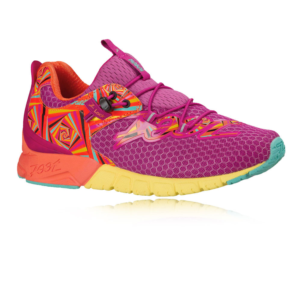 Zoot Makai Womens Orange Purple Sneakers Running Sports Shoes Trainers