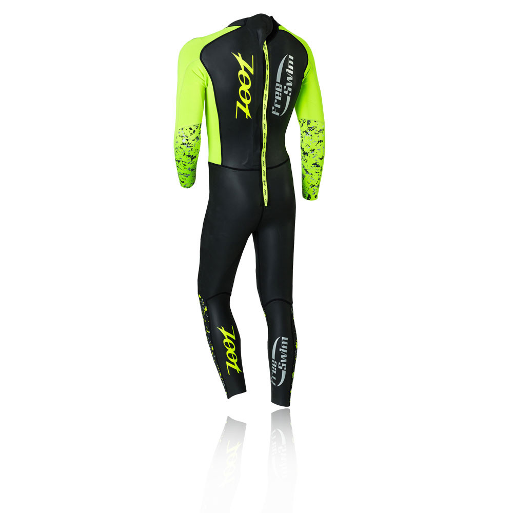manica da Zoot maniche Costume scuro mezza Wave con a lunghe da verde zip bagno triathlon a Pxafq6d1