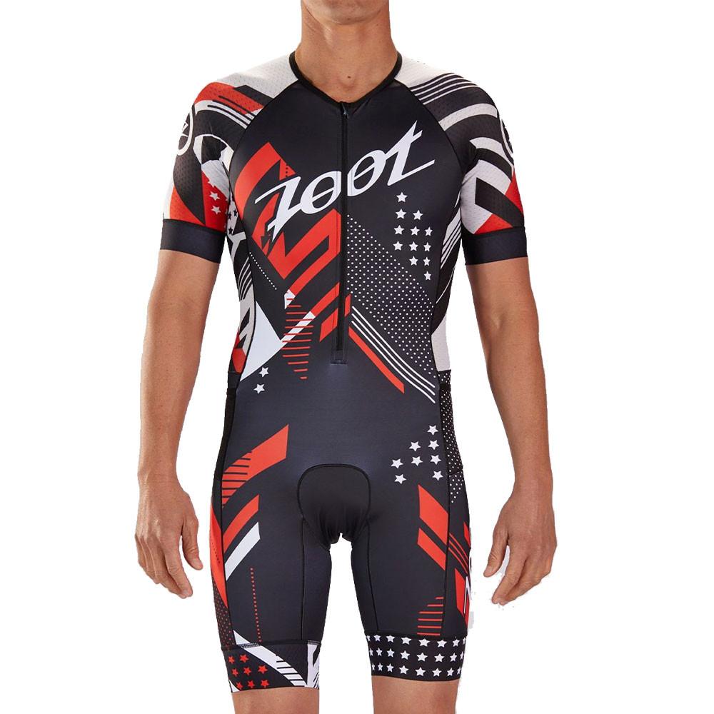 Zoot LTD Tri Aero Short Sleeve Racesuit - SS19